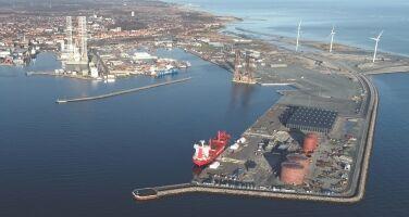 Arkivfoto-Frederikshavn-Havn