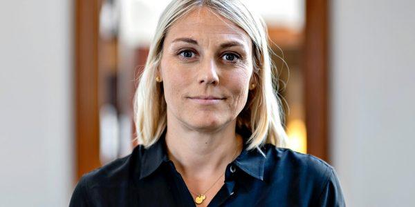Forsvarsminister Trine Bramsen. Foto: Keld Navntoft (2019) / Forsvarsministeriet