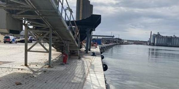 I tre etaper er de cirka 660 meter kaj blevet renoveret med fokus på levetidsforlængelse og bæredygtighed. Foto: Aarhus Havn