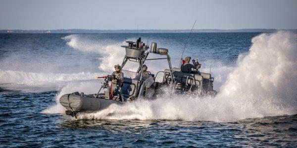 Specialstyrker på øvelse. Foto: Palshøj / Forsvaret