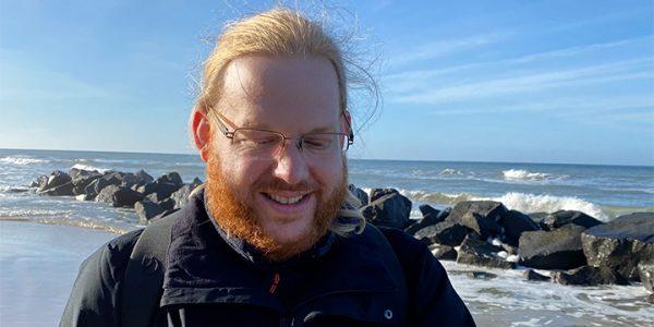 Tyske Patrik Sigwart har siden barnsben besøgt Danmark en gang om året. Foto: Hirtshals Havn